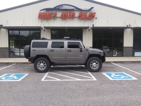 2008 HUMMER H2 for sale at DOUG'S AUTO SALES INC in Pleasant View TN
