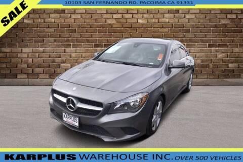 2016 Mercedes-Benz CLA for sale at Karplus Warehouse in Pacoima CA