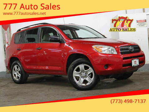 2008 Toyota RAV4 for sale at 777 Auto Sales in Bedford Park IL