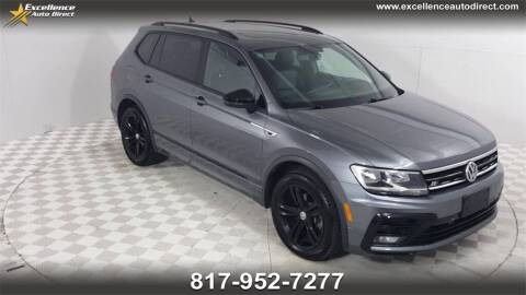 2019 Volkswagen Tiguan for sale at Excellence Auto Direct in Euless TX