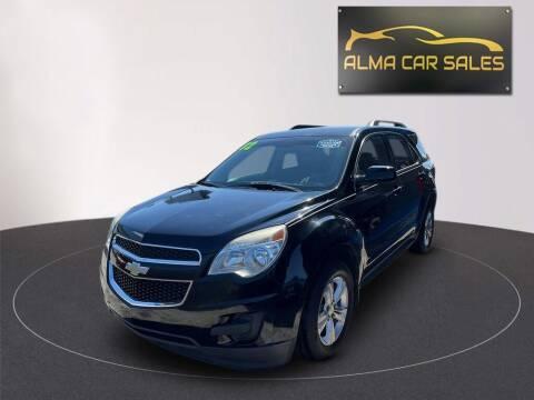 2012 Chevrolet Equinox for sale at Alma Car Sales in Miami FL