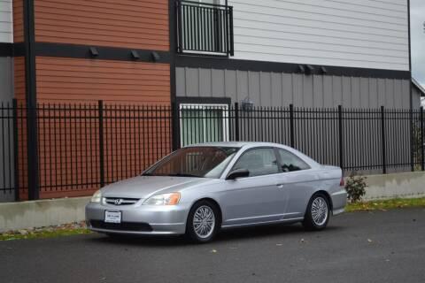 2003 Honda Civic for sale at Skyline Motors Auto Sales in Tacoma WA