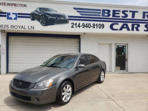 2006 Nissan Altima for sale at Best Royal Car Sales in Dallas TX