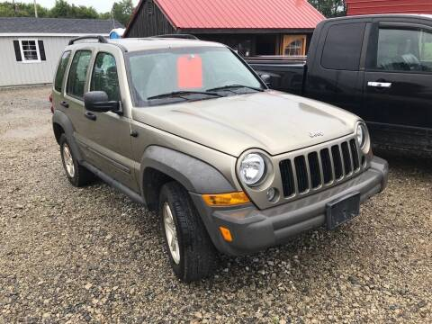 2006 Jeep Liberty for sale at Simon Automotive in East Palestine OH