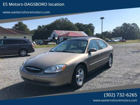 2003 Ford Taurus for sale at ES Motors-DAGSBORO location in Dagsboro DE