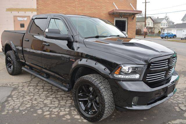 2015 RAM Ram Pickup 1500 for sale at CASTLE AUTO AUCTION INC. in Scranton PA