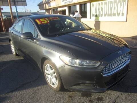 2015 Ford Fusion for sale at Cars Direct USA in Las Vegas NV