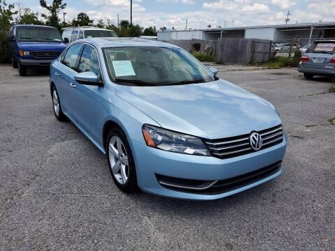 2012 Volkswagen Passat for sale at Jamrock Auto Sales of Panama City in Panama City FL