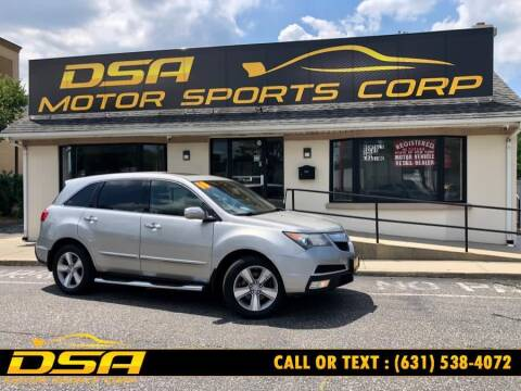 2010 Acura MDX for sale at DSA Motor Sports Corp in Commack NY