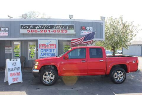 2009 Chevrolet Colorado for sale at D & B Auto Sales LLC in Washington Township MI