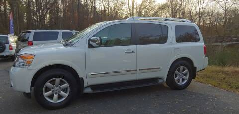 2014 Nissan Armada for sale at Buddy's Auto Inc in Pendleton SC