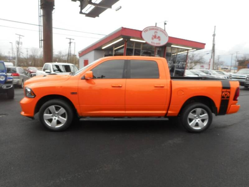 2017 RAM Ram Pickup 1500 for sale at The Carriage Company in Lancaster OH