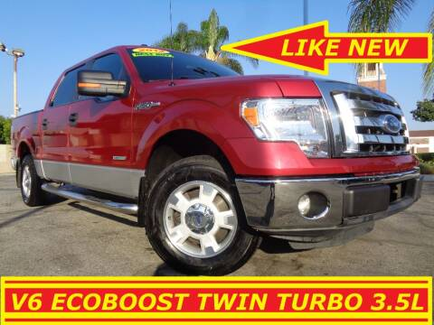 2012 Ford F-150 for sale at ALL STAR TRUCKS INC in Los Angeles CA