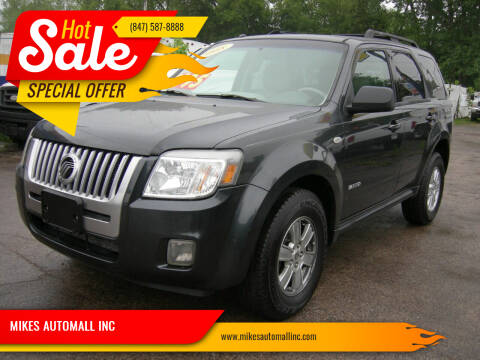 2008 Mercury Mariner for sale at MIKES AUTOMALL INC in Ingleside IL