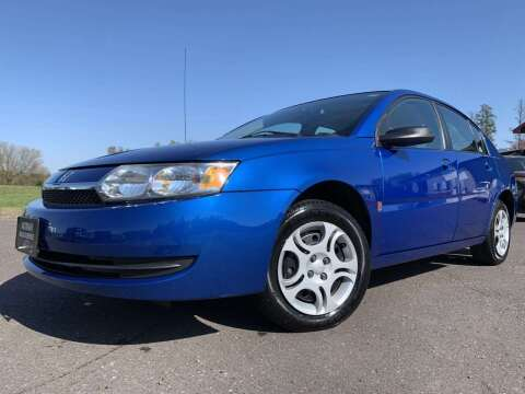 2004 Saturn Ion for sale at Autobahn Sales And Service LLC in Hermantown MN
