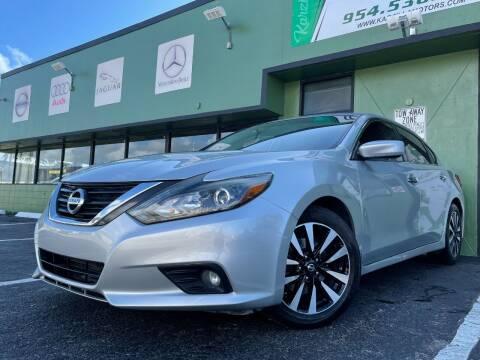 2018 Nissan Altima for sale at KARZILLA MOTORS in Oakland Park FL