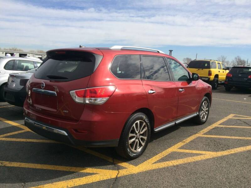 2013 Nissan Pathfinder for sale at Capitol Hill Auto Sales LLC in Denver CO