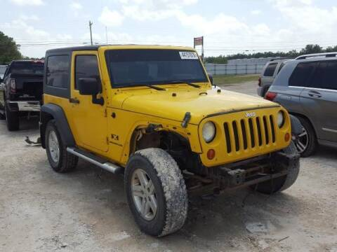 2007 Jeep Wrangler for sale at Ragins' Dynamic Auto LLC in Brookland AR