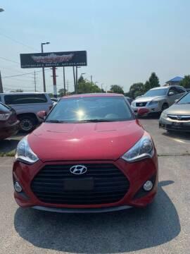 2013 Hyundai Veloster for sale at Washington Auto Group in Waukegan IL