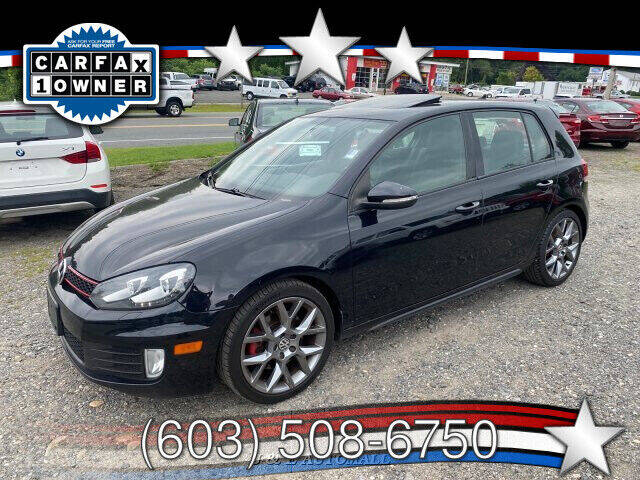 2013 Volkswagen GTI for sale at J & E AUTOMALL in Pelham NH