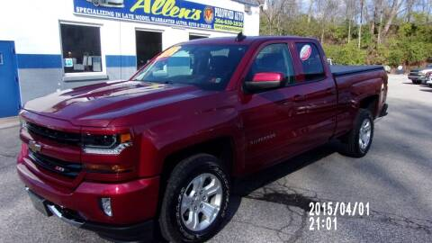 2018 Chevrolet Silverado 1500 for sale at Allen's Pre-Owned Autos in Pennsboro WV