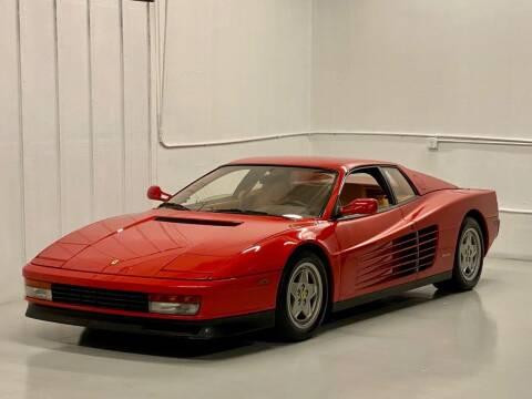1990 Ferrari Testarossa for sale at Gallery Junction in Orange CA