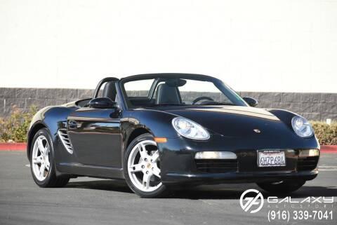 2005 Porsche Boxster for sale at Galaxy Autosport in Sacramento CA
