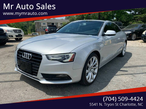 2013 Audi A5 for sale at Mr Auto Sales in Charlotte NC