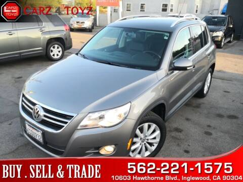 2011 Volkswagen Tiguan for sale at Carz 4 Toyz in Inglewood CA