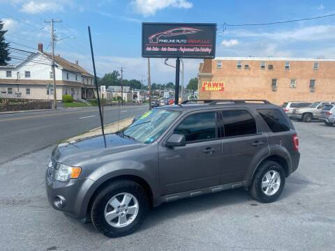 2012 Ford Escape for sale at Fineline Auto Group LLC in Harrisburg PA