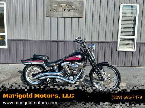 1996 Harley Davidson Bad Boy Springer FXSTSB for sale at Marigold Motors, LLC in Pekin IL