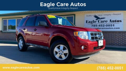 2012 Ford Escape for sale at Eagle Care Autos in Mcpherson KS