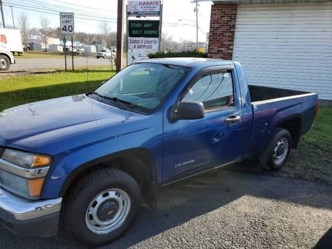 2005 Chevrolet Colorado for sale at CRYSTAL MOTORS SALES in Rome NY