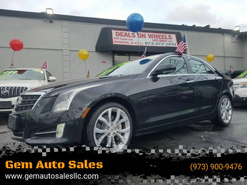 2013 Cadillac ATS for sale at Gem Auto Sales in Irvington NJ
