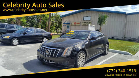 2012 Cadillac CTS for sale at Celebrity Auto Sales in Fort Pierce FL