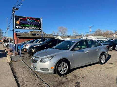 2013 Chevrolet Cruze for sale at AWD Denver Automotive LLC in Englewood CO
