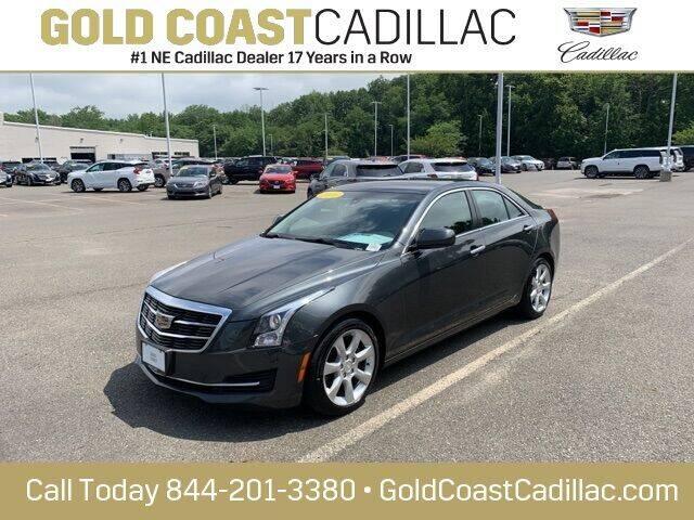 2016 Cadillac ATS for sale at Gold Coast Cadillac in Oakhurst NJ