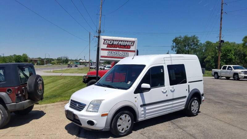 2013 Ford Transit Connect for sale at Downing Auto Sales in Des Moines IA