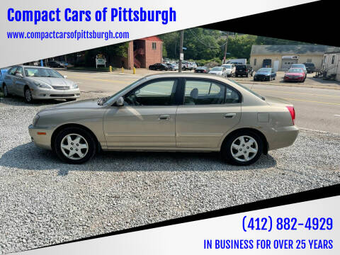 2006 Hyundai Elantra for sale at Compact Cars of Pittsburgh in Pittsburgh PA