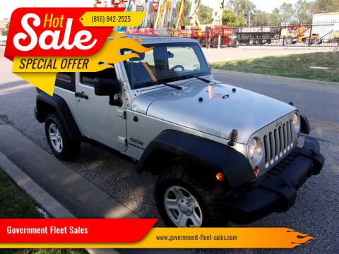 2011 Jeep Wrangler for sale at Government Fleet Sales in Kansas City MO