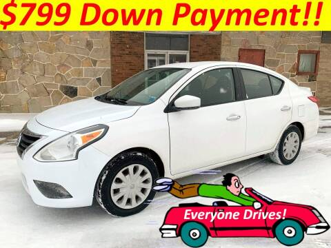2016 Nissan Versa for sale at World Automotive in Euclid OH