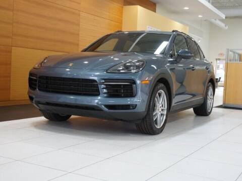 2019 Porsche Cayenne for sale at PORSCHE OF NORTH OLMSTED in North Olmsted OH