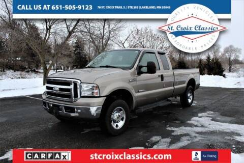 2006 Ford F-250 Super Duty for sale at St. Croix Classics in Lakeland MN