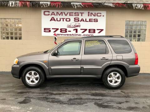 2005 Mazda Tribute for sale at Camvest Inc. Auto Sales in Depew NY