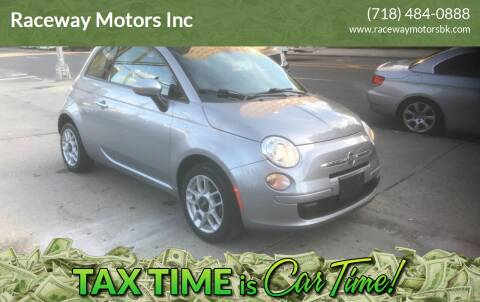 2015 FIAT 500 for sale at Raceway Motors Inc in Brooklyn NY