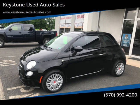 2015 FIAT 500 for sale at Keystone Used Auto Sales in Brodheadsville PA