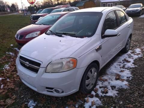 2009 Chevrolet Aveo for sale at Seneca Motors, Inc. (Seneca PA) - SHIPPENVILLE, PA LOCATION in Shippenville PA