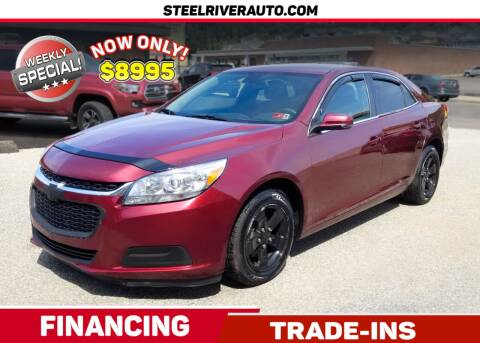 2016 Chevrolet Malibu Limited for sale at Steel River Auto in Bridgeport OH