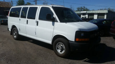 2011 Chevrolet Express Cargo for sale at Village Car Company in Hinesburg VT