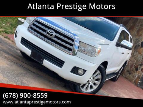 2008 Toyota Sequoia for sale at Atlanta Prestige Motors in Decatur GA